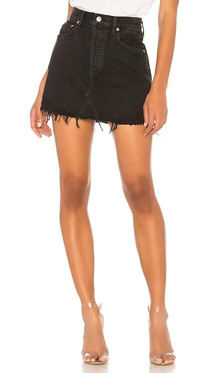 Quinn High Rise Skirt AGOLDE $128