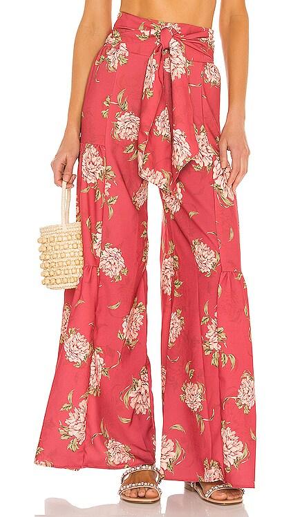 Jade Blomma Wide Leg Pants Agua Bendita $150