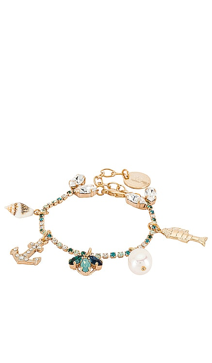 Crystal Charm Bracelet Anton Heunis $119 Sustainable