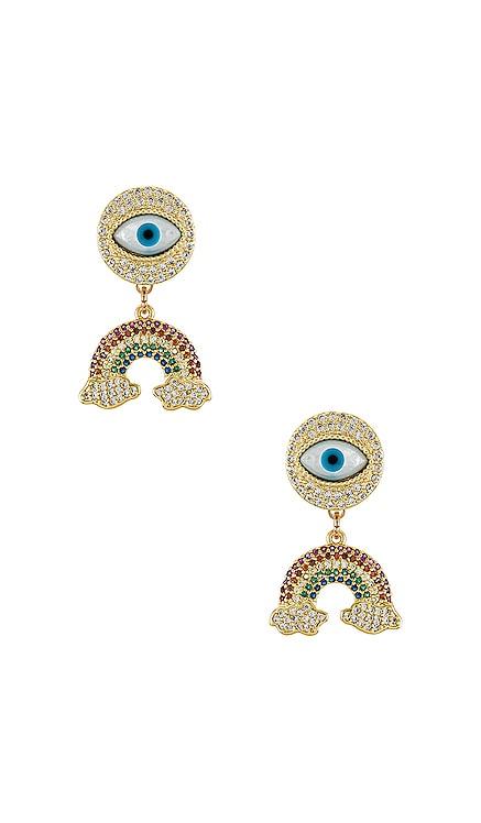 Post Eye & Charms Earrings Anton Heunis $93 Sustainable