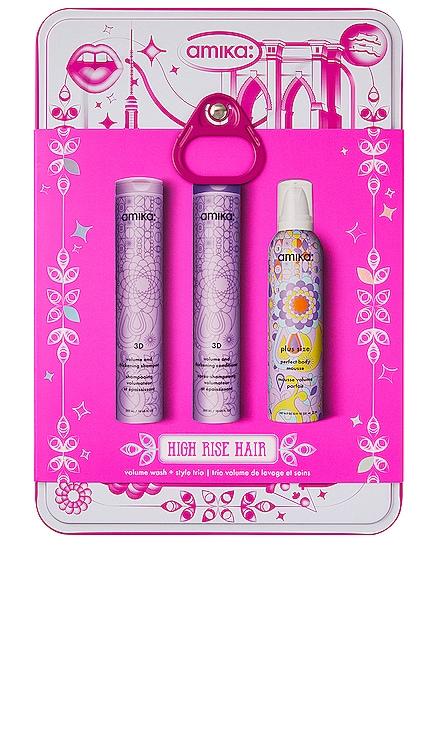 High Rise Hair Volume Set amika $49 NEW