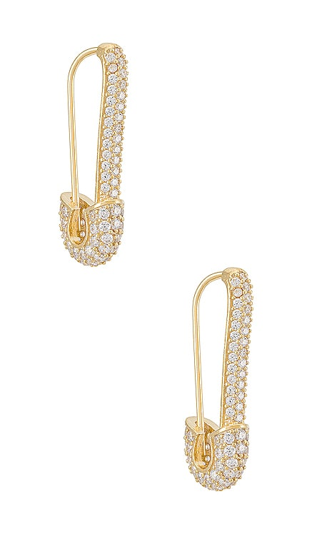 Safety Pin Earring Adina's Jewels $68