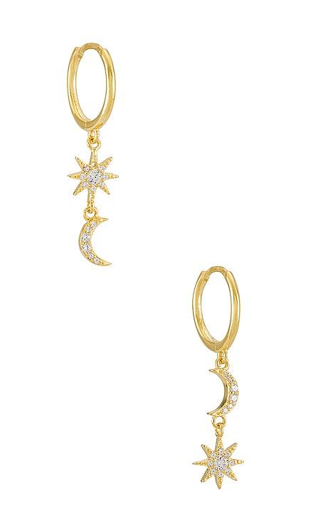 Celestial Huggie Adina's Jewels $36