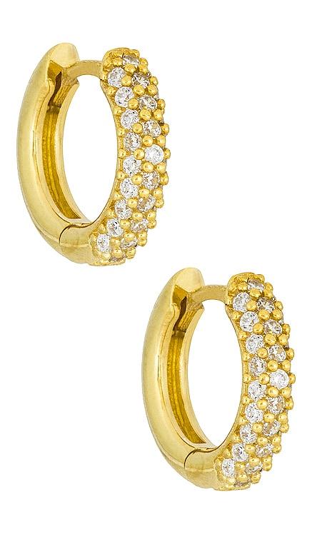 Mini Pave Huggies Adina's Jewels $58 NEW
