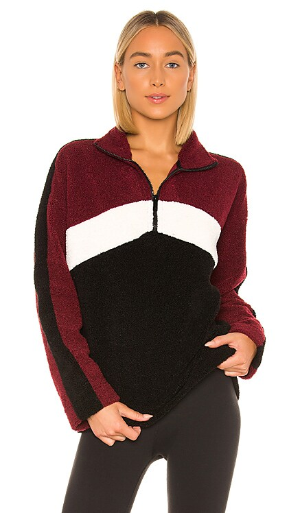 Chalet Sherpa Quarter Zip Sweatshirt ALALA $185