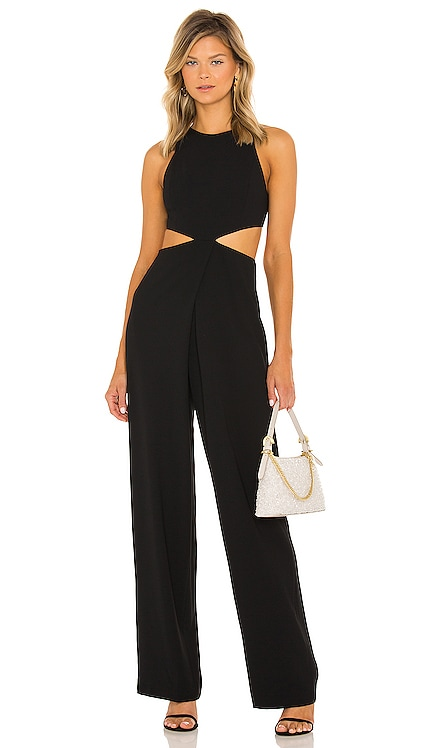 Cara Cut Out Jumpsuit Alice + Olivia $395 NEW