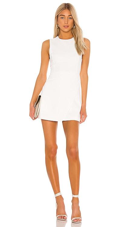 Kelsey Asymmetrical Drape Dress Alice + Olivia $295 BEST SELLER