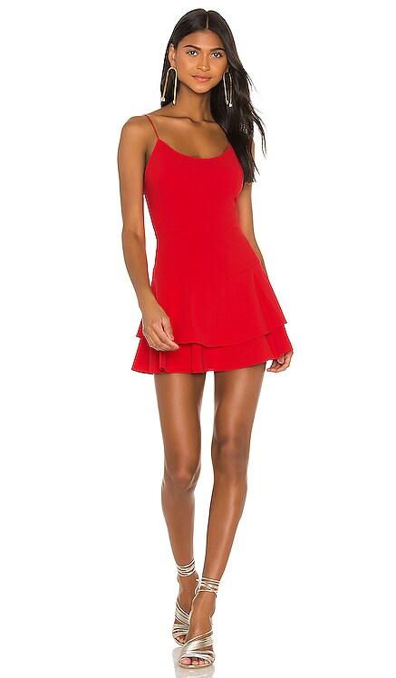 Palmira Ruffle Tank Dress Alice + Olivia $275