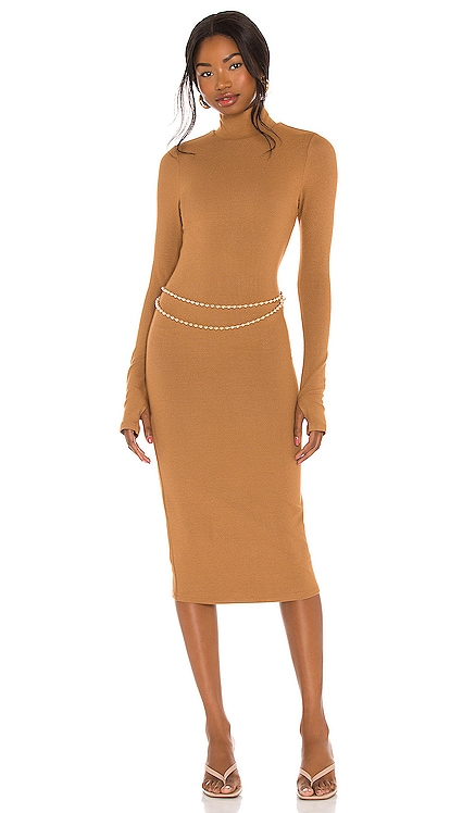 Delora Turtleneck Dress Alice + Olivia $350