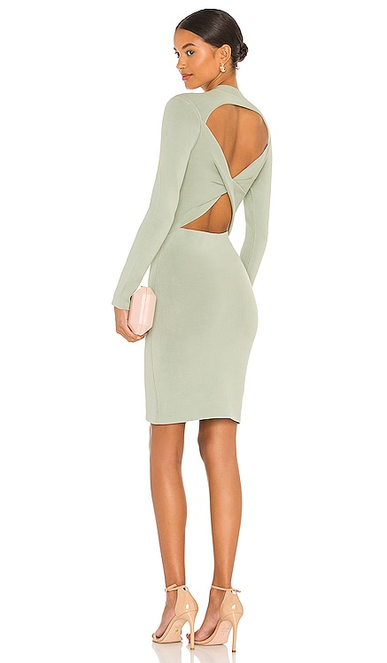 Estelle Twist Back Mini Dress Alice + Olivia $465 BEST SELLER