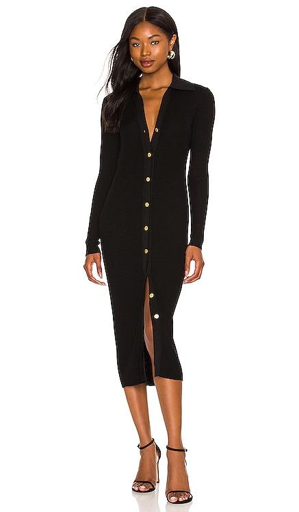 Alcina Button Down Polo Dress Alice + Olivia $395