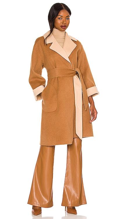 Tomiko Reversible Coat Alice + Olivia $695