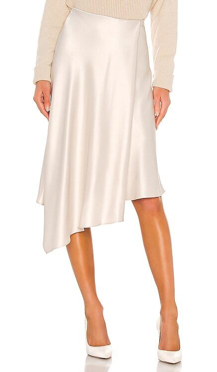 Jayla Drape Slit Skirt Alice + Olivia $265 BEST SELLER