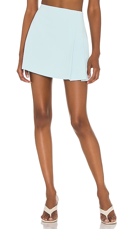 Semira Pleated Mini Skirt Alice + Olivia $225