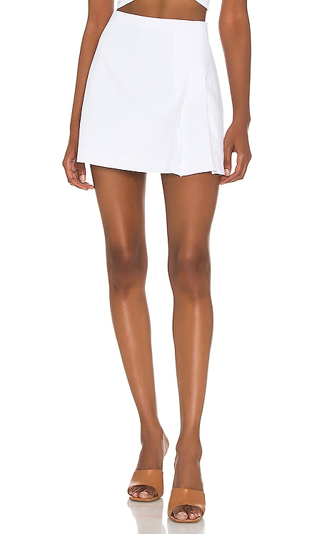 Semira Pleated Mini Skirt Alice + Olivia $225 NEW
