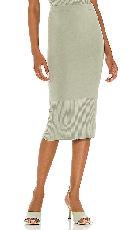 Leo Side Slit Mini Skirt Alice + Olivia $275