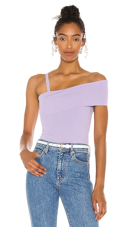 Arletta Asymmetrical Off Shoulder Tank Alice + Olivia $250 NEW
