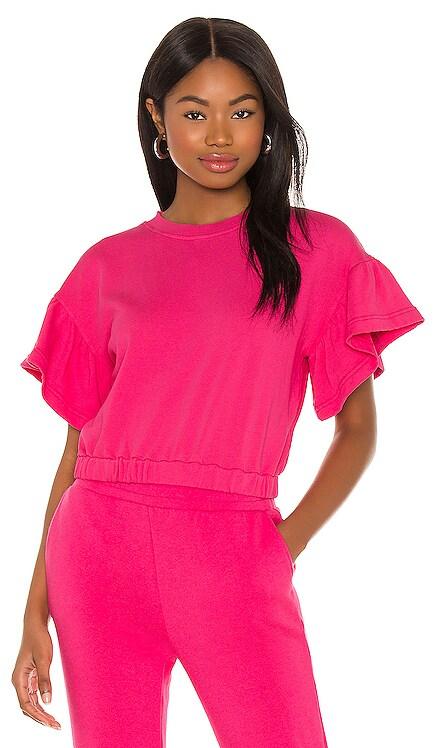 Joline Ruffle Sleeve Sweatshirt Alice + Olivia $150