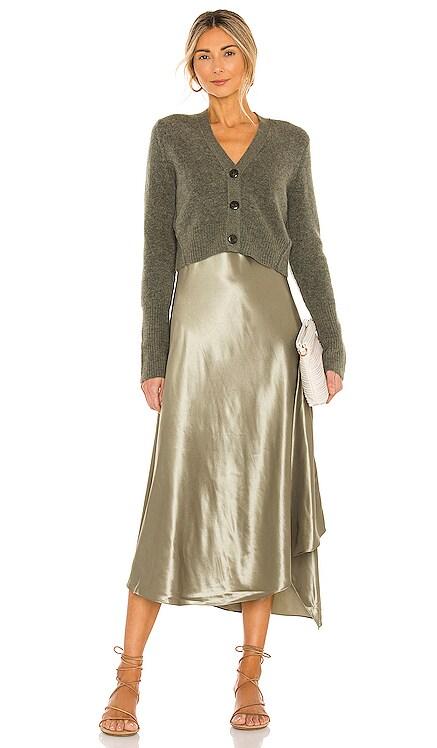 ORRI ミディ丈ドレス ALLSAINTS $319
