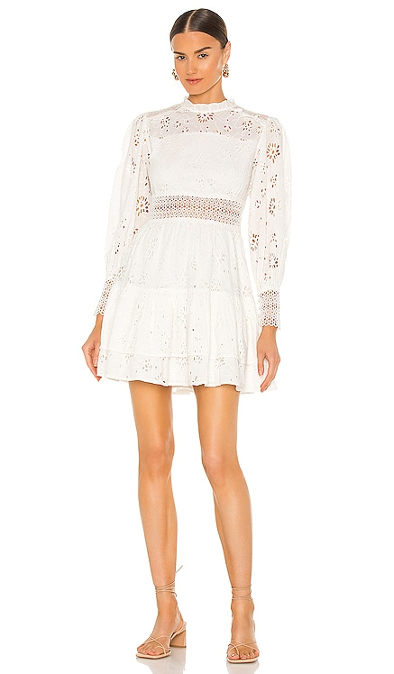 Annasia Broderie Dress ALLSAINTS $319 NEW