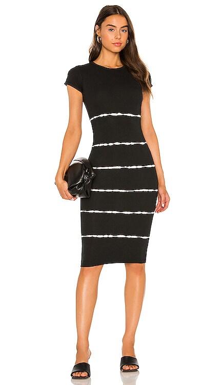 Niko Tie Dye Stripe Dress ALLSAINTS $122