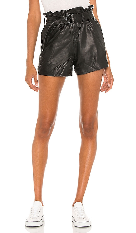 Leather Erica Short ALLSAINTS $260 NEW