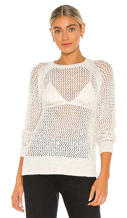 Mesh Metallic Sweater ALLSAINTS $180 NEW