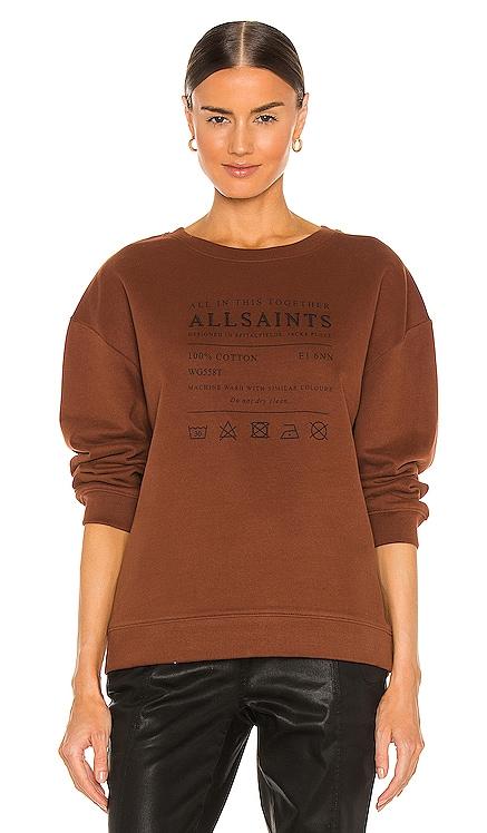 Veda Iona Sweatshirt ALLSAINTS $139 NEW