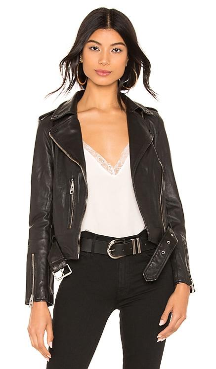 Balfern Leather Biker Jacket ALLSAINTS $489