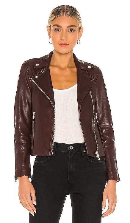 Dalby Biker Jacket ALLSAINTS $499 NEW
