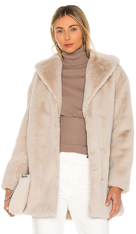 Amice Faux Fur Jacket ALLSAINTS $355 NEW