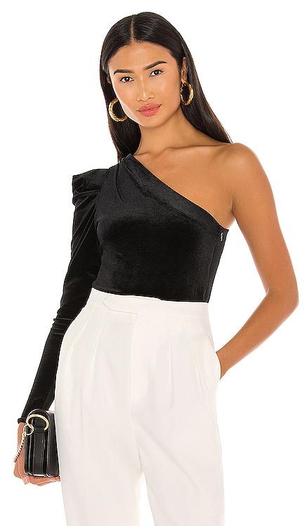 Daphne Velvet Bodysuit ALLSAINTS $185 NEW