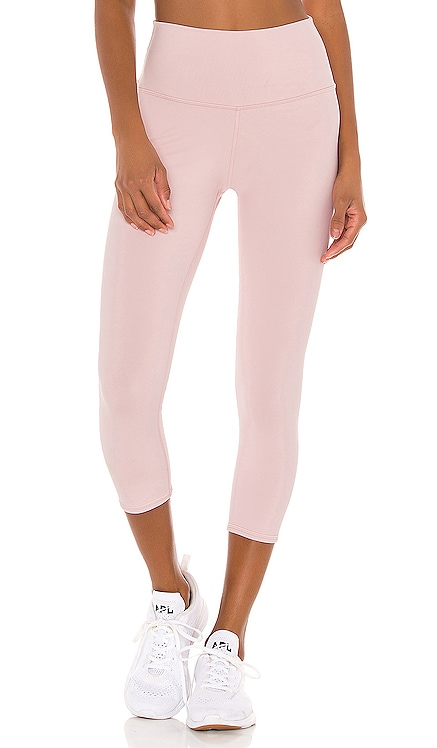 High Waist Airbrush Capri Legging alo $79 NEW