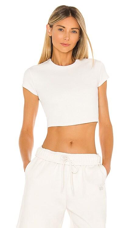 Ribbed Short Sleeve Top alo $53