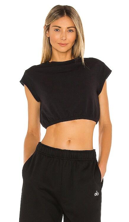 Dreamy Crop Short Sleeve Top alo $59