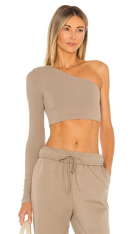 Body Wave Crop Long Sleeve Top alo $75