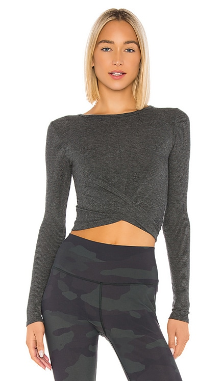 Cover Long Sleeve Top alo $68