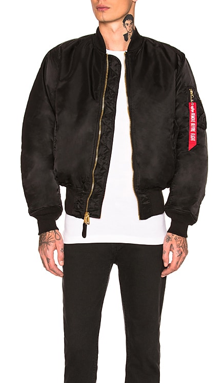 MA-1 Blood Chit Bomber ALPHA INDUSTRIES $170