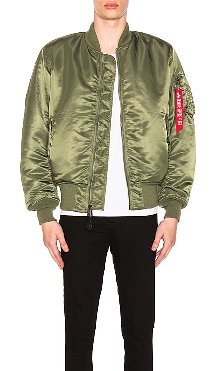 MA 1 BLOOD CHIT BOMBER 자켓 ALPHA INDUSTRIES $150 베스트 셀러