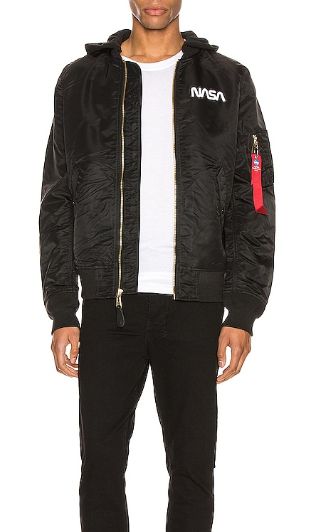 L-2B Hooded NASA II Jacket ALPHA INDUSTRIES $200