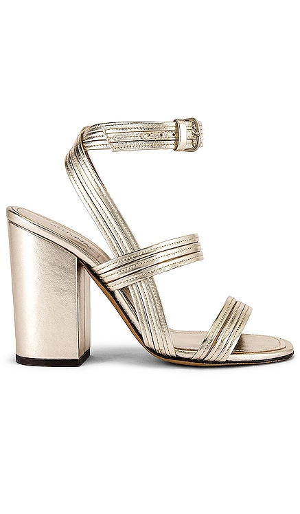 Stitched Mignon Block Heel ALUMNAE $595 NEW ARRIVAL