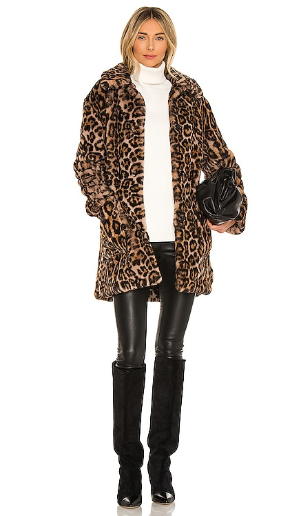 Bolton Faux Fur Coat A.L.C. $495 NEW