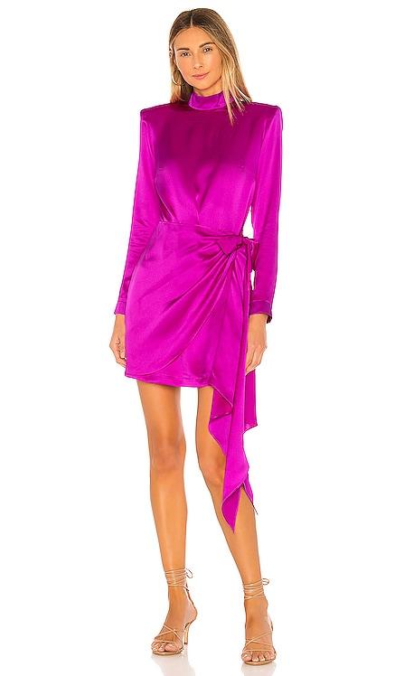 x REVOLVE Yasmine Knot Dress Amanda Uprichard $325