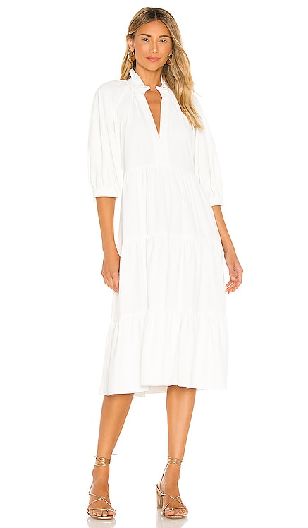 Saffron Midi Dress Amanda Uprichard $242 NEW