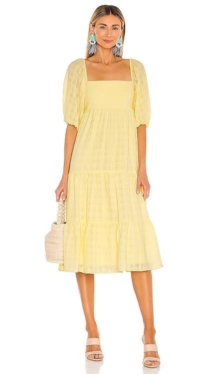 Maisie Midi Dress Amanda Uprichard $260 BEST SELLER