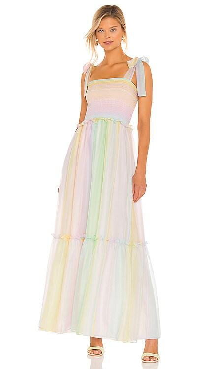 Lillet Maxi Dress Amanda Uprichard $312 NEW