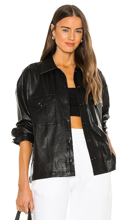 X REVOLVE Hollis Shacket Amanda Uprichard $268 NEW
