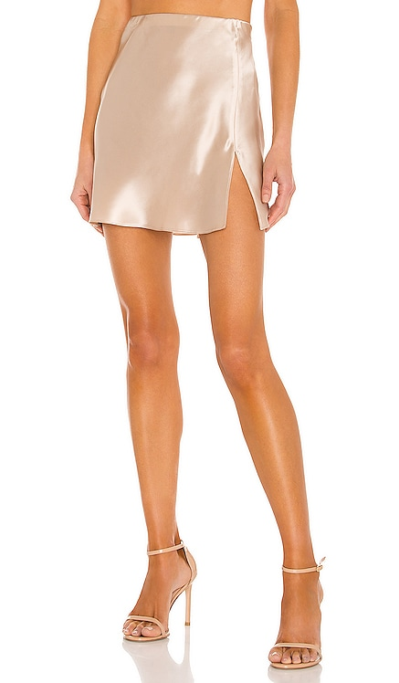 X REVOLVE Mini Ludlow Slit Skirt Amanda Uprichard $207