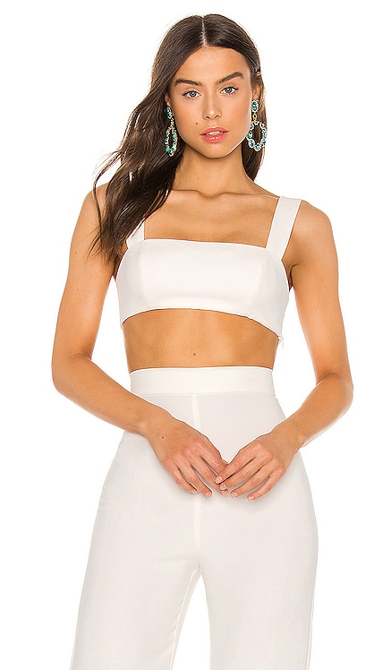 X REVOLVE Lindsay Crop Top Amanda Uprichard $119 NEW