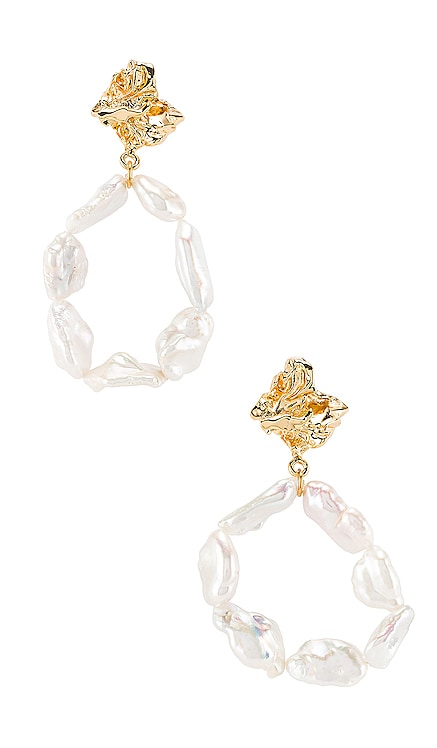 Myla Earrings Amber Sceats $175